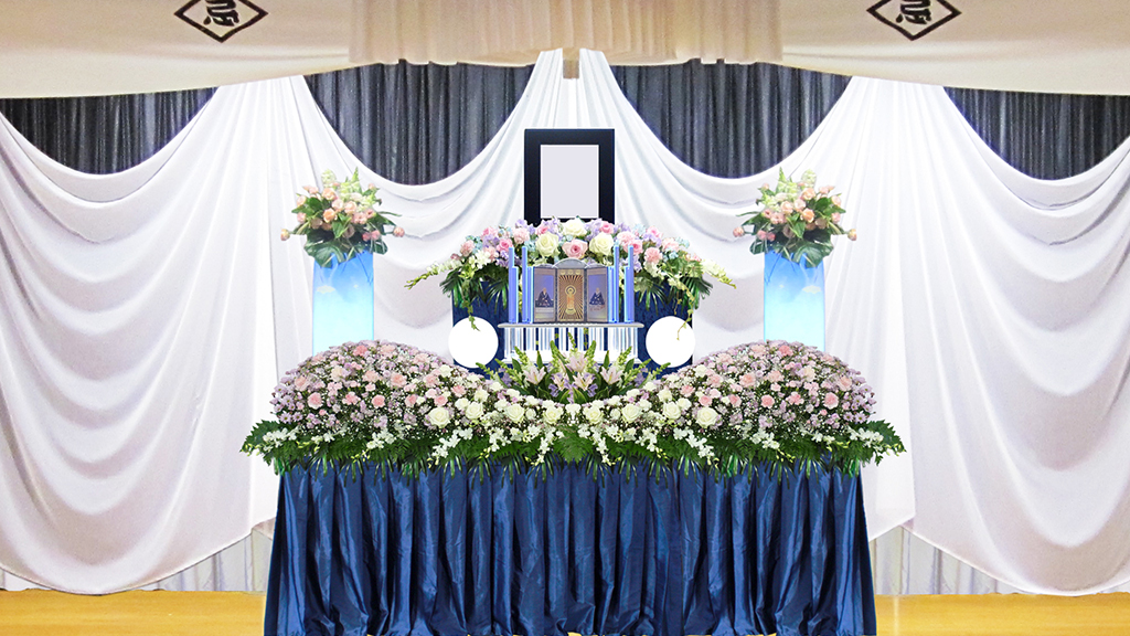 生花祭壇⑦