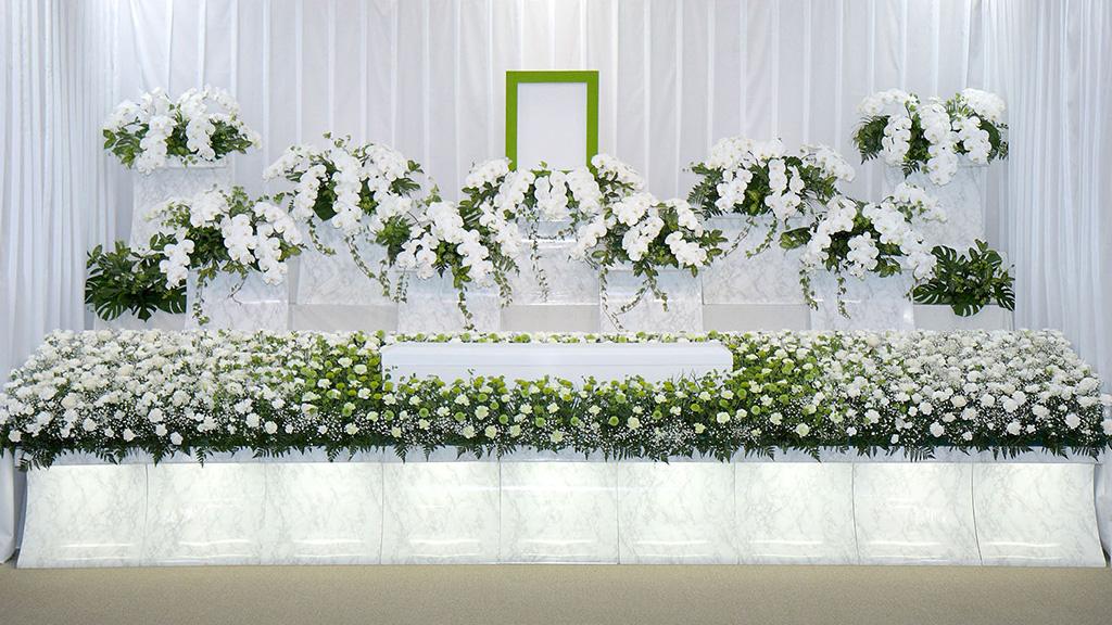 生花祭壇③