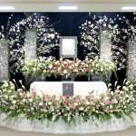 生花祭壇④
